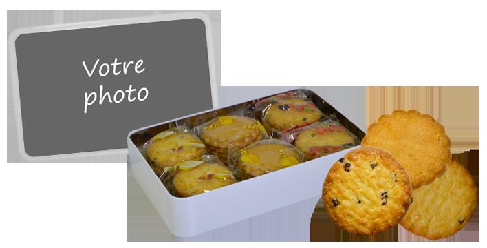 boite biscuits personnalisée